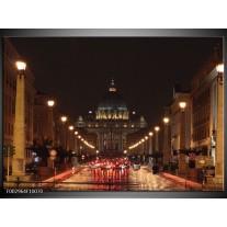 Foto canvas schilderij Paris | Grijs, Bruin, Wit