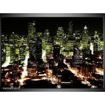 Glas schilderij Nacht | Bruin, Groen, Zwart