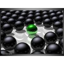 Glas schilderij Design | Groen, Zwart, Grijs