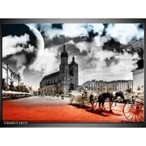 Foto canvas schilderij Design | Rood, Grijs, Zwart