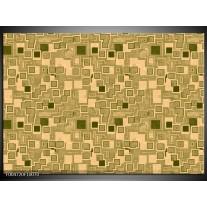 Foto canvas schilderij Modern   Bruin, Groen