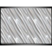 Foto canvas schilderij Modern   Zilver, Wit