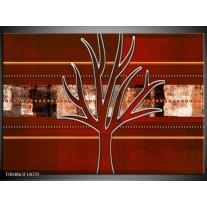 Foto canvas schilderij Modern | Bruin, Grijs, Geel