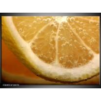 Foto canvas schilderij Keuken | Geel, Oranje, Bruin