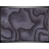 Foto canvas schilderij Modern | Grijs