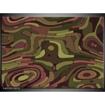 Foto canvas schilderij Modern | Groen, Geel