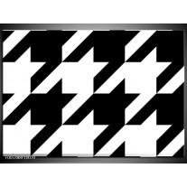 Foto canvas schilderij Modern | Wit, Zwart