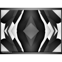 Foto canvas schilderij Modern   Zwart, Wit, Grijs