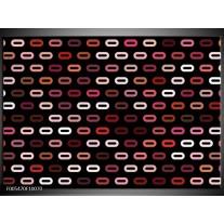 Foto canvas schilderij Abstract | Bruin, Wit, Zwart