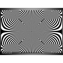 Foto canvas schilderij Abstract   Zwart, Grijs, Wit