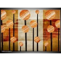 Foto canvas schilderij Art | Bruin, Grijs