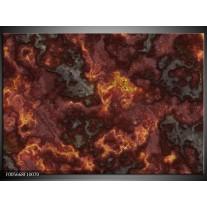 Foto canvas schilderij Vuur   Geel, Grijs