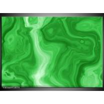 Foto canvas schilderij Art | Groen