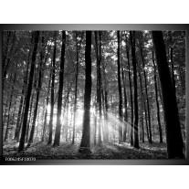Foto canvas schilderij Natuur | Grijs, Zwart, Wit