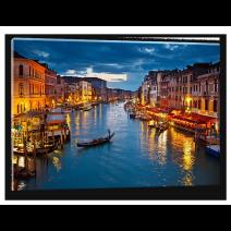 Glas schilderij Venetië | Blauw, Oranje | 100x70cm 1Luik