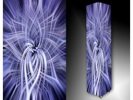 Ledlamp 103, Abstract, Blauw, Wit