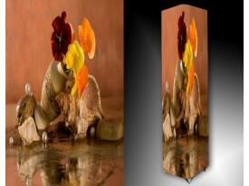 Ledlamp 1181, Bloem, Oranje, Bruin, Rood