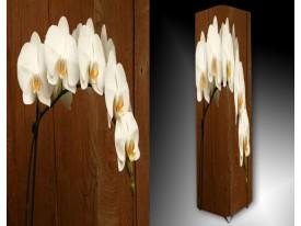 Ledlamp 1184, Orchidee, Wit, Bruin, Geel