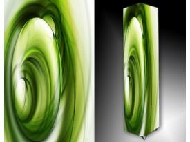 Ledlamp 120, Abstract, Paars, Groen, Zwart