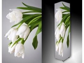 Ledlamp 1241, Tulpen, Groen, Grijs, Wit