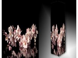 Ledlamp 1283, Bloem, Roze, Zwart