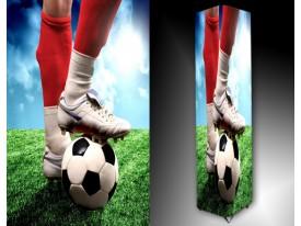 Ledlamp 1315, Voetbal, Rood, Blauw, Groen