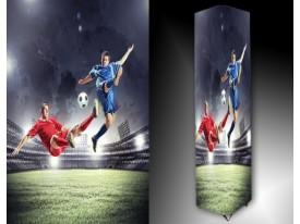 Ledlamp 1317, Voetbal, Rood, Blauw, Groen