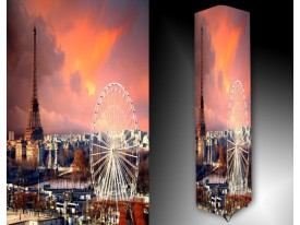 Ledlamp 1356, Parijs, Oranje, Roze, Wit