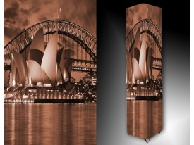 Ledlamp 1426, Sydney, Bruin, Grijs