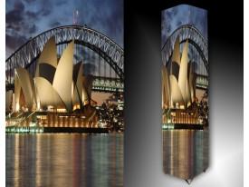Ledlamp 1433, Sydney, Bruin, Blauw, Grijs