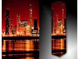 Ledlamp 1443, Stad, Oranje, Rood, Zwart