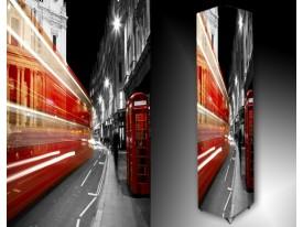 Ledlamp 1447, Londen, Oranje, Rood, Grijs
