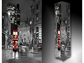 Ledlamp 1448, Londen, Grijs, Rood, Wit