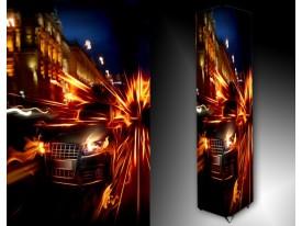 Ledlamp 1455, Auto, Zwart, Blauw, Oranje
