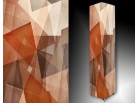 Ledlamp 146, Abstract, Wit, Bruin, Oranje
