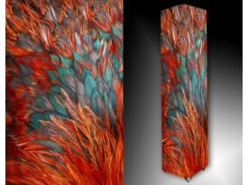Ledlamp 147, Abstract, Rood, Blauw, Oranje