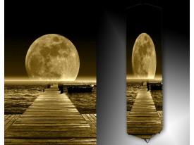 Ledlamp 1488, Maan, Grijs, Bruin, Zwart