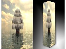 Ledlamp 1496, Boot, Grijs, Blauw, Wit