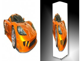 Ledlamp 1497, Auto, Oranje, Zwart, Wit