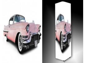 Ledlamp 1498, Auto, Roze, Wit, Zwart