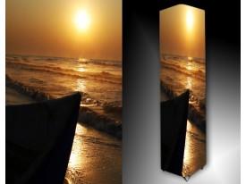 Ledlamp 1500, Zee, Geel, Bruin, Zwart