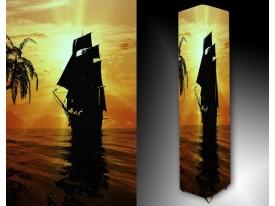 Ledlamp 1501, Boot, Oranje, Wit, Zwart