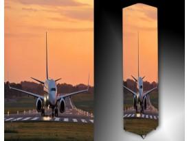 Ledlamp 1503, Vliegtuig, Roze, Wit, Groen