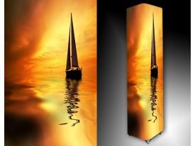 Ledlamp 1506, Boot, Oranje, Geel, Bruin