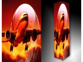 Ledlamp 1508, Vliegtuig, Oranje, Rood, Geel
