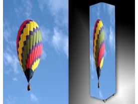 Ledlamp 1521, Luchtballon, Blauw, Geel, Roze