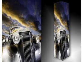 Ledlamp 1523, Auto, Blauw, Geel, Grijs