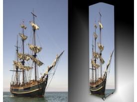 Ledlamp 1524, Boot, Blauw, Grijs, Bruin