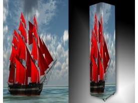 Ledlamp 1531, Boot, Blauw, Rood, Grijs