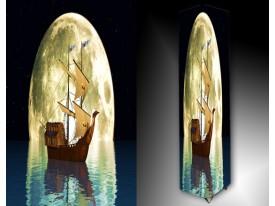 Ledlamp 1534, Boot, Creme, Zwart, Blauw